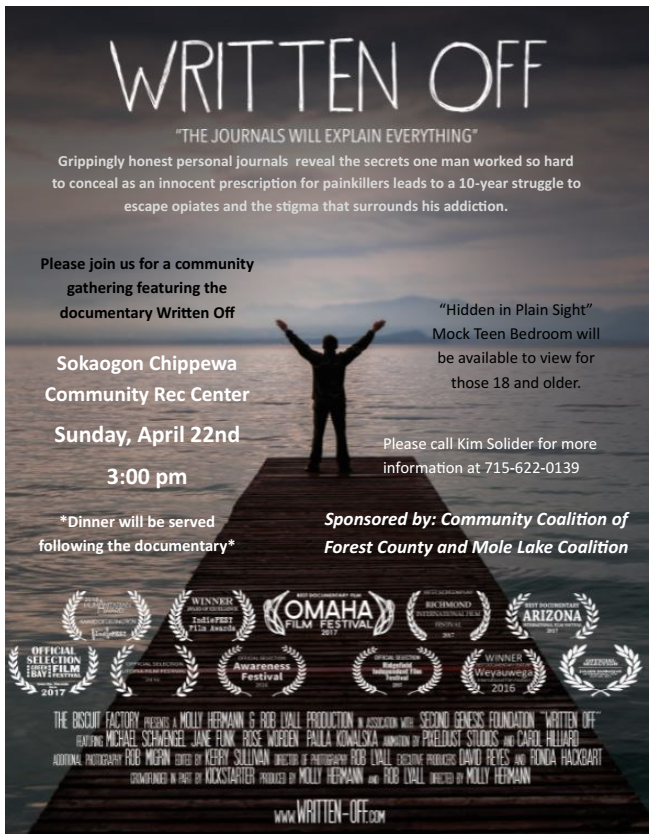"""Written Off"" Documentary Screening"