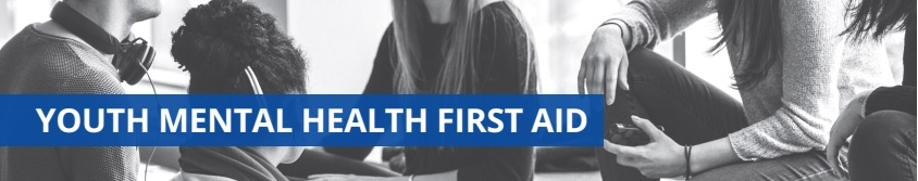 Free Youth Mental Health First Aid Class
